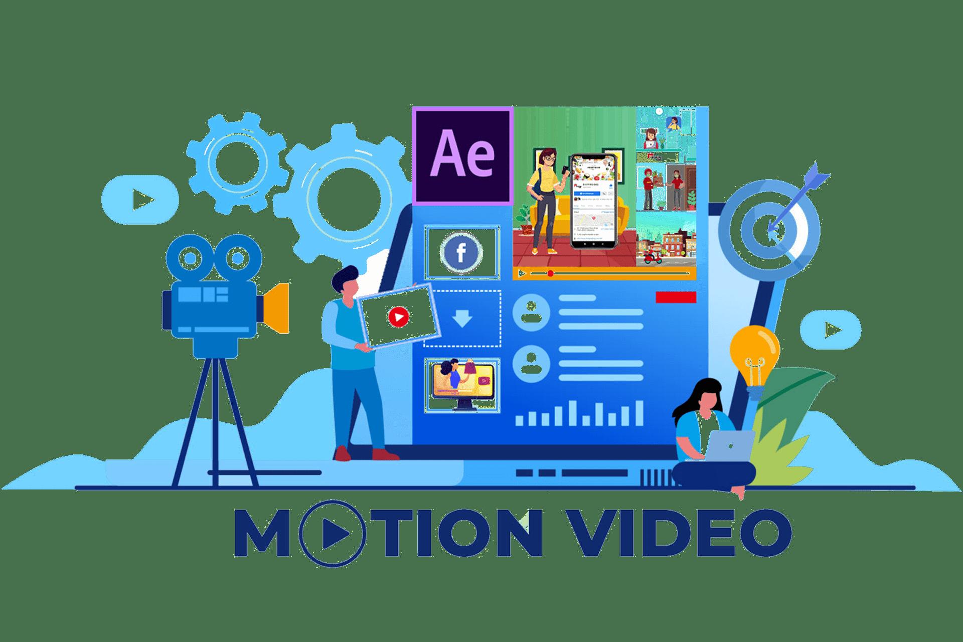 Pembuatan Iklan Video Motion dan TVC Ads