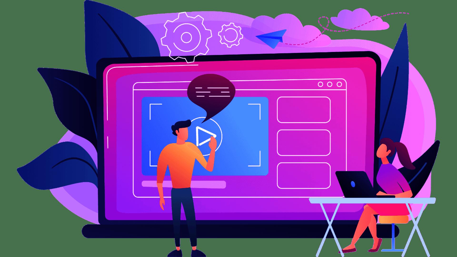 Video Motion Grafic Marketing Explainer Iklan