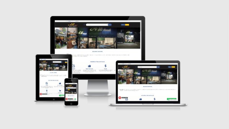 Amsnack Website Toko Online