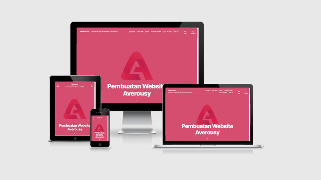 Averousy - Biaya Jasa Pembuatan Website Murah Profesional Berkualitas