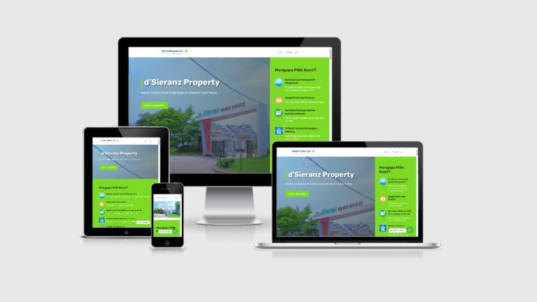 D'Sieranz Property Website Pemasaran