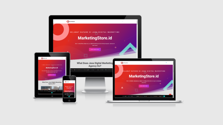 Marketing Store Website Pemasaran Digital