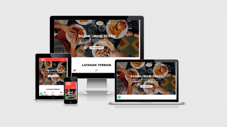 Umami Resto Website Toko Online Restoran